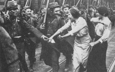 kvinder under 1 verdenskrig